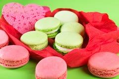 Ensemble de bonbon de biscuits comme cadeau pendant des vacances Photo stock