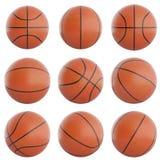 Ensemble de boules de basket-ball Image stock