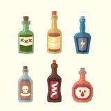 Ensemble de bouteilles Images stock