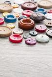 Ensemble de boutons de cru Photo stock