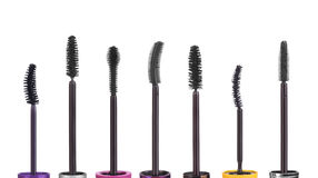 Ensemble de brosses de mascara Images stock