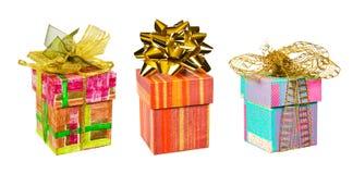 Ensemble de cadeaux photographie stock