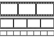 Ensemble de cadre de film, Image stock
