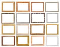 Ensemble de cadres de tableau larges Photographie stock