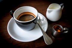 Ensemble de café Image stock