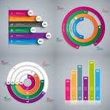 Ensemble de calibre de conception de vecteur d'Infographics Photo libre de droits