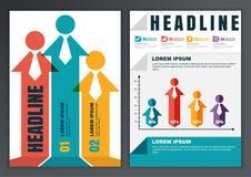 Ensemble de calibre de vecteur pour la brochure, insecte, affiche, application illustration libre de droits