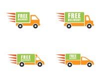 Ensemble de camion de livraison illustration stock