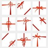 Ensemble de carte cadeaux Images stock
