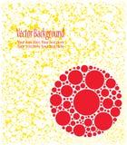 Ensemble de cercles colorés Photo stock
