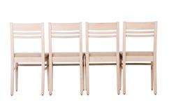 Ensemble de chaises images stock