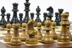 Ensemble de chiffres d'échecs Photos stock