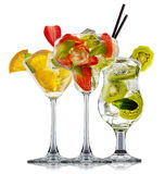 Ensemble de cocktail d'alcool Photographie stock libre de droits