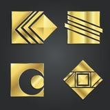 Ensemble de conception créative de logo de vecteur Photographie stock libre de droits