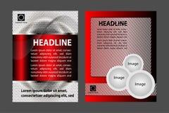 Ensemble de conception moderne de brochure Photographie stock libre de droits