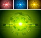 Ensemble de contextes de technologie Image libre de droits