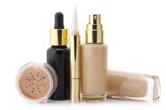 Ensemble de cosmétique Photos stock
