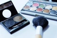 Ensemble de cosmétique Images stock