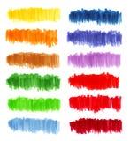 Ensemble de couleur de marqueur Photos libres de droits
