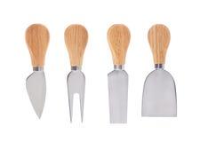 Ensemble de couteaux de fromage Photo libre de droits