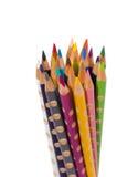 Ensemble de crayon de couleur Photos libres de droits