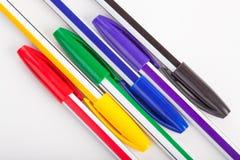 Ensemble de crayon lecteur Photos stock