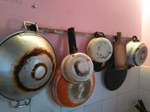 Ensemble de cuisine Images stock