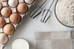 Ensemble de cuisson Photographie stock libre de droits