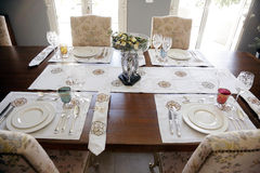 Ensemble de dîner Handcrafted Photo stock