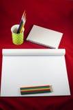 Ensemble de dessin Image libre de droits