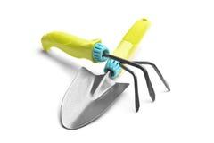 Ensemble de deux outils de jardinier ou de fleuriste photo stock