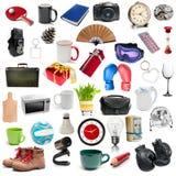 Ensemble de différents objets Photo libre de droits