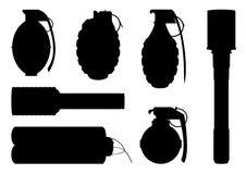 Ensemble de divers symboles Image stock