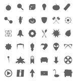 Ensemble de divers symboles et icônes Images stock