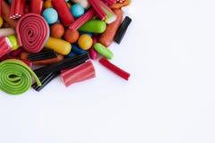 Ensemble de diverses sucreries Images libres de droits
