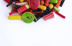 Ensemble de diverses sucreries Photographie stock