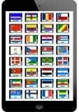 Ensemble de drapeau illustration libre de droits