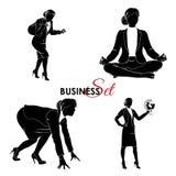 Ensemble de femme d'affaires Photos stock