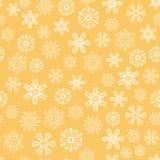 Ensemble de flocons de neige de vecteur Photographie stock libre de droits