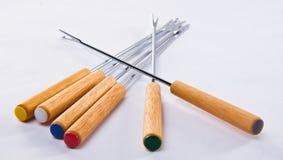 Ensemble de fourchettes Image libre de droits