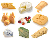 Ensemble de fromage photos stock