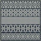Ensemble de frontières sans couture de vintage sous forme d'ornement celtique Image stock