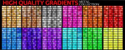 Ensemble de gradients color?s illustration de vecteur