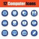 Ensemble de graphismes de l'ordinateur icons illustration libre de droits