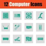 Ensemble de graphismes de l'ordinateur icons illustration de vecteur