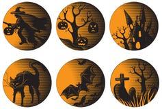 Ensemble de Halloween Photographie stock