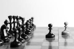 Ensemble de jeu d'échecs Photos stock