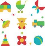Ensemble de jouets Photographie stock libre de droits