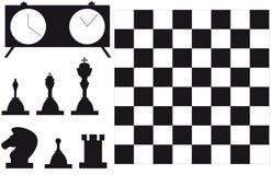 Ensemble de joueur d'échecs Image libre de droits