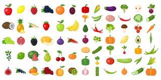 Ensemble de légumes illustration stock